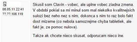 Clavin recenzia